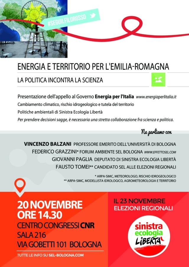 energia e territorio per l'Emilia-Romagna